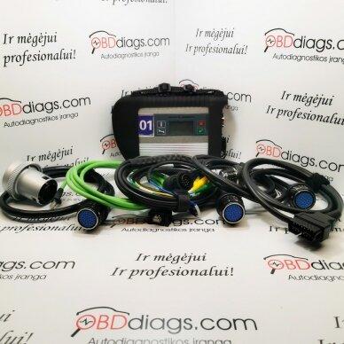 MB Star Sdconnect C4 DOIP profesionali diagnostikos įranga