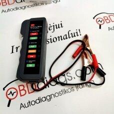 Akumuliatorių testeris BM310