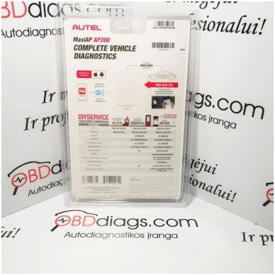 Autel MaxiAP AP200 Android / iOS diagnostinė įranga 2