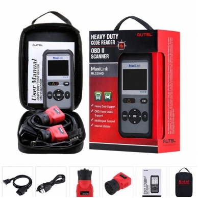 Autel MaxiLink ML529HD universali diagnostikos įranga