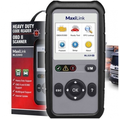 Autel MaxiLink ML529HD universali diagnostikos įranga 2