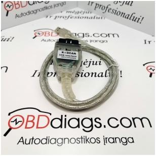 BMW INPA K + DCAN su jungikliu diagnostikos įranga BMW markės automobiliams