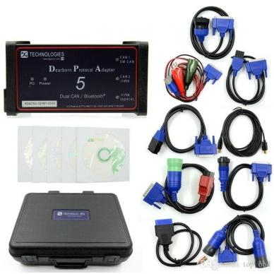 DPA5 Dual CAN sunkvežimių diagnostikos ir programavimo įranga 2