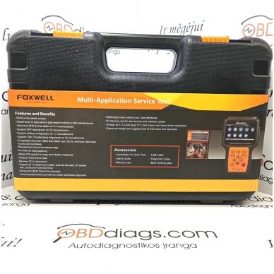 Foxwell NT650 universali diagnostikos įranga 6