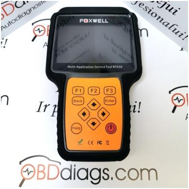 Foxwell NT650 universali diagnostikos įranga 3