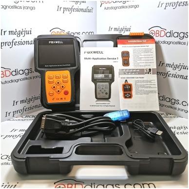 Foxwell NT650 universali diagnostikos įranga 2