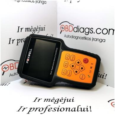 Foxwell NT650 universali diagnostikos įranga 4