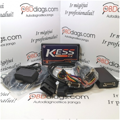 KESS 3.099 ECU CHIPP TUNING įranga