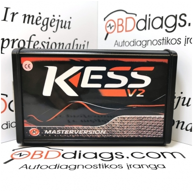 KESS 5.017 ECU CHIPP TUNING įranga