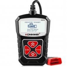 Konnwei KW310 universalus variklio klaidų skaitytuvas