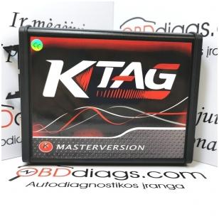 KTAG 7.020 MASTER RED profesionali programavimo įranga
