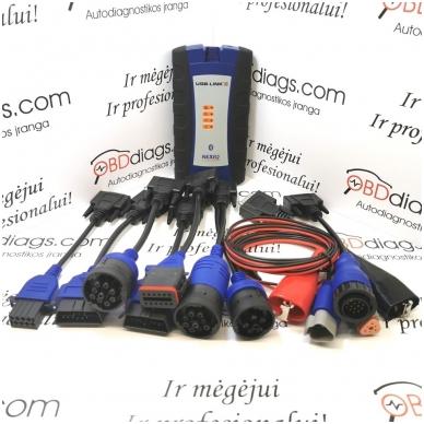 NEXIQ-2 - profesionali diagnostikos ir programavimo įranga 2