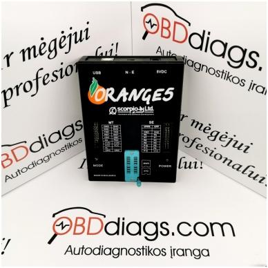 Orange5 profesionalus programatorius + adapterių komplektas