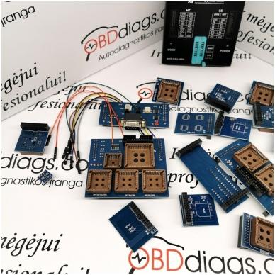 Orange5 profesionalus programatorius + adapterių komplektas 3