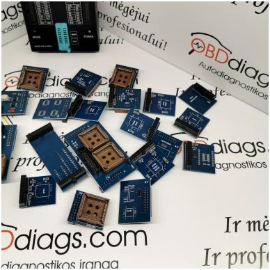 Orange5 profesionalus programatorius + adapterių komplektas 4
