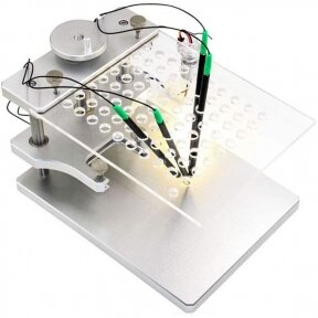 Profesionalus HQ metalinis BDM stalas su LED pašvietimu
