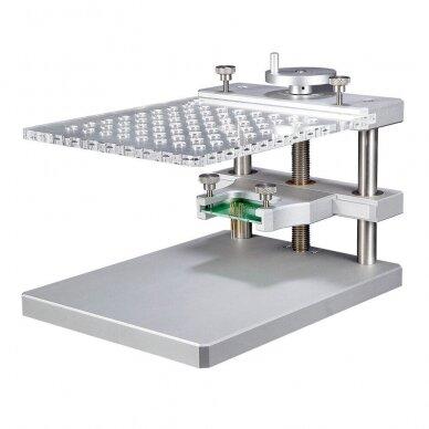 Profesionalus HQ metalinis BDM stalas su LED pašvietimu 2