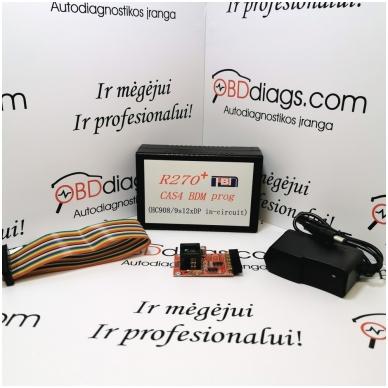 R270 CAS4 BDM programatoriaus 2