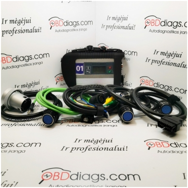 MB Star Sdconnect C4 profesionali įranga