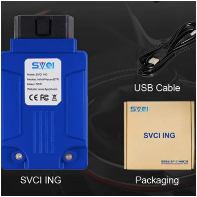 SVCI ING Nissan / GTR diagnostikos ir programavimo įranga