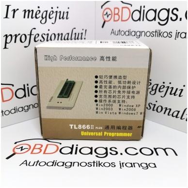TL866II Plus EEPROM, EPROM ir FLASH programtorius 5